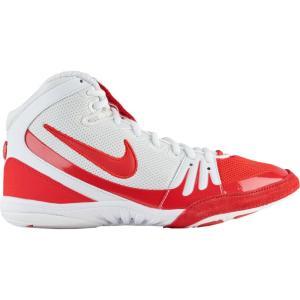 ナイキ メンズ シューズ・靴 レスリング Nike Freek White/University Red|fermart