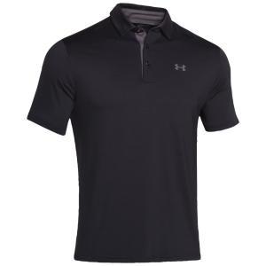アンダーアーマー メンズ トップス ゴルフ Playoff Golf Polo Black/Graphite/Graphite|fermart