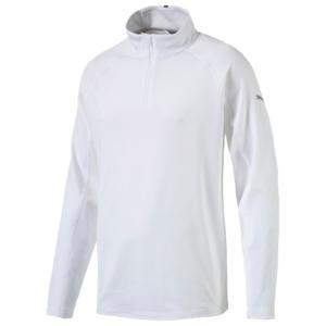 プーマ メンズ トップス ゴルフ Core Golf 1/4 Zip Popover Bright White fermart