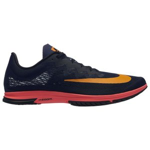 ナイキ Nike メンズ シューズ・靴 陸上 Zoom Streak LT 4 Blackened Blue/Orange Peel/Black/Flash Crimson|fermart