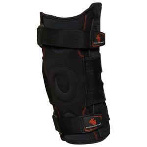 ショックドクター メンズ サポーター フィットネス・トレーニング Shock Doctor Ultra Knee Support with Hinges Black|fermart