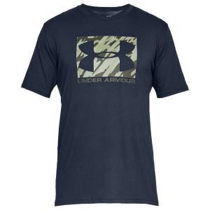 アンダーアーマー Under Armour メンズ Tシャツ トップス Boxed Sportstyle Short Sleeve T-Shirt Academy/Rifle Green|fermart
