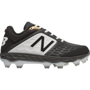 ニューバランス New Balance メンズ シューズ・靴 野球 3000v4 TPU Low Black/White|fermart
