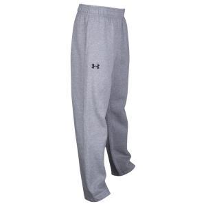 アンダーアーマー メンズ スウェット・ジャージ ボトムス・パンツ Under Armour Team Hustle Fleece Pants True Gray Heather/Black|fermart