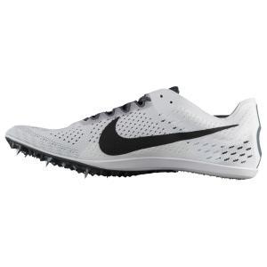 ナイキ メンズ シューズ・靴 陸上 Nike Zoom Victory 3 White/Black/Dark Grey|fermart