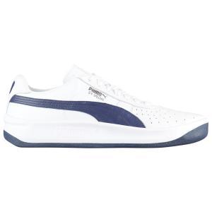 プーマ メンズ シューズ・靴 テニス GV Special + White/Peacoat|fermart