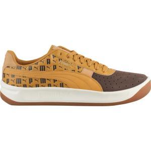 プーマ PUMA メンズ シューズ・靴 テニス GV Special + Chocolate Brown/Honey Mustard/Team Gold|fermart