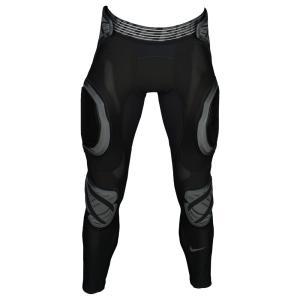 ナイキ メンズ ボトムス・パンツ アメリカンフットボール Hyperstrong Padded 3/4 Tights Black/Wolf Grey|fermart