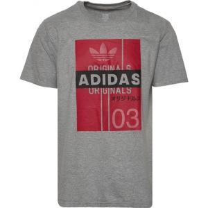 アディダス adidas Originals メンズ Tシャツ トップス Trefoil Flash T-Shirt Grey/Black|fermart