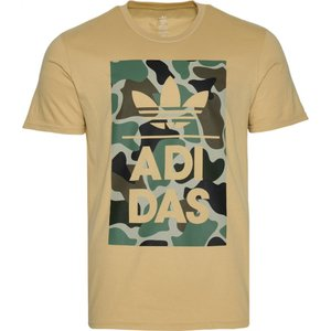 アディダス adidas Originals メンズ Tシャツ トップス graphic t-shirt Camo/Black/Olive|fermart