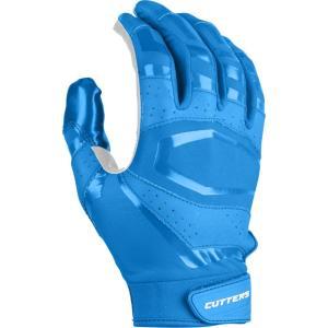 カッターズ メンズ グローブ アメリカンフットボール Rev Pro 3.0 Solid Receiver Gloves Columbia Blue|fermart