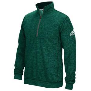 アディダス adidas メンズ トップス フィットネス・トレーニング Team Issue 1/4 Zip College Green/Heathered Grey|fermart