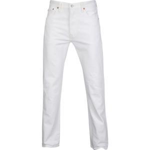 リーバイス Levi's メンズ ジーンズ・デニム ボトムス・パンツ 501 Original Fit Jeans Optic White|fermart