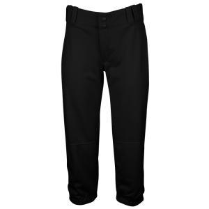 アンダーアーマー レディース 野球 ウェア ボトムス Under Armour Team One-Hop Pants Black fermart