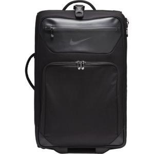 ナイキ Nike ユニセックス スーツケース・キャリーバッグ バッグ Departure Roller Bag Black/Black|fermart