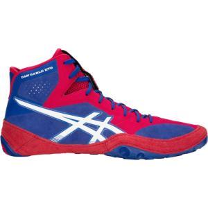 アシックス メンズ シューズ・靴 レスリング Dan Gable Evo Blue/White|fermart