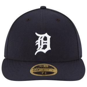 ニューエラ New Era メンズ キャップ 帽子 MLB 59Fifty Authentic LP Cap Navy|fermart