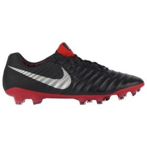 ナイキ Nike メンズ シューズ・靴 サッカー Tiempo Legend 7 Elite FG Black/Metallic Silver/Light Crimson|fermart