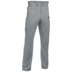 アンダーアーマー Under Armour メンズ ボトムス・パンツ 野球 Leadoff III Open Bottom Pants Baseball Grey|fermart