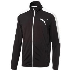 プーマ PUMA メンズ ジャージ アウター Contrast Jacket Puma Black/Puma White|fermart