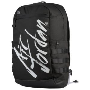 ナイキ ジョーダン Jordan ユニセックス バックパック・リュック バッグ Air Script Backpack Black/White|fermart