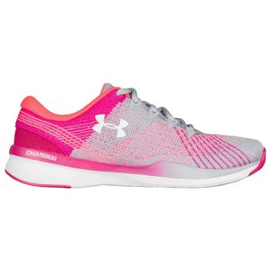 アンダーアーマー レディース シューズ・靴 フィットネス・トレーニング Threadborne Push TR Overcast Gray/Tropic Pink/White|fermart
