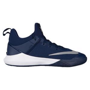 ナイキ メンズ シューズ・靴 バスケットボール Nike Zoom Shift Midnight Navy/White fermart