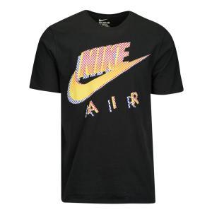ナイキ メンズ Tシャツ トップス Graphic T-Shirt Black/Yellow/Red|fermart