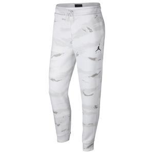 ナイキ ジョーダン Jordan メンズ ボトムス・パンツ Jumpman Air Fleece Camo Pants White/Black|fermart