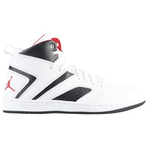 ナイキ ジョーダン メンズ シューズ・靴 バスケットボール Flight Legend Black/White/Gym Red|fermart