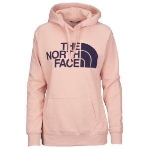 ザ ノースフェイス The North Face レディース パーカー トップス Jumbo Half Dome Pullover Hoodie Misty Rose/Galaxy Purple|fermart