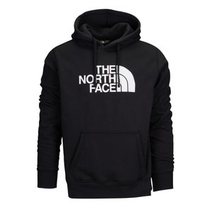 ザ ノースフェイス メンズ パーカー トップス Half Dome Pullover Hoodie Tnf Black/Tnf White|fermart