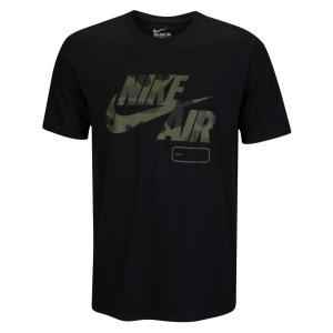 ナイキ メンズ Tシャツ トップス Nike Graphic T-Shirt Black/Camo|fermart