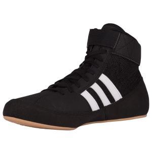 アディダス adidas メンズ シューズ・靴 レスリング HVC 2 Black/White/Gum|fermart