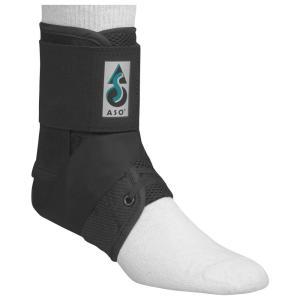 エーエスオー ASO ユニセックス サポーター フィットネス・トレーニング Ankle Stabilizer Black|fermart