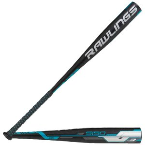 ローリングス メンズ バット 野球 5150 BBCOR Baseball Bat Black/Blue/White|fermart