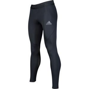 アディダス adidas メンズ フィットネス・トレーニング タイツ・スパッツ ボトムス・パンツ alphaskin compression tights Black|fermart