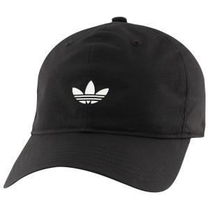 アディダス adidas Originals メンズ キャップ 帽子 Relaxed Modern II Cap Black/Reflective White|fermart