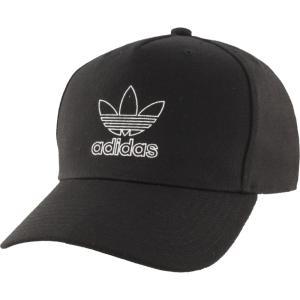 アディダス adidas Originals メンズ キャップ スナップバック 帽子 Dart Precurve Snapback Black/White fermart