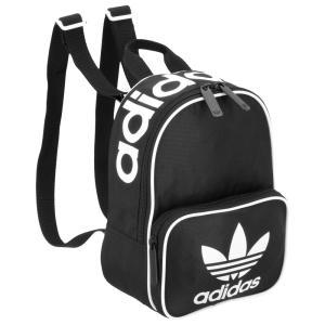 アディダス adidas Originals ユニセックス バックパック・リュック バッグ Santiago Mini Backpack Black|fermart