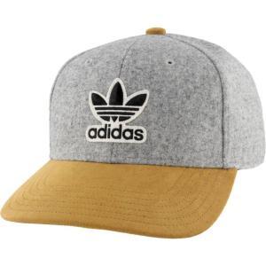 アディダス adidas Originals メンズ キャップ 帽子 Structured Archive Strapback Heather Grey/Tan fermart