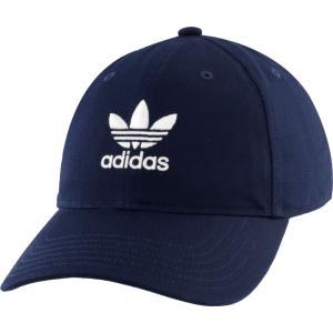 アディダス adidas Originals メンズ キャップ 帽子 Washed Relaxed Strapback Collegiate Navy fermart