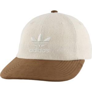アディダス adidas Originals メンズ キャップ 帽子 Unstructured Cruz Cap Trace Khaki/Brown|fermart