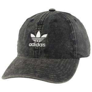 アディダス adidas Originals メンズ キャップ 帽子 Cloud Strapback Cap Black/White|fermart