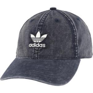 アディダス adidas Originals メンズ キャップ 帽子 cloud strapback cap Collegiate Navy/White|fermart