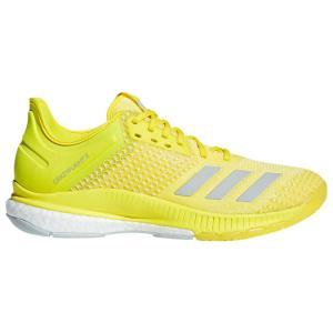 アディダス adidas レディース シューズ・靴 バレーボール Crazyflight X 2 Shock Yellow/Silver/White|fermart