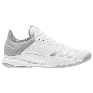 アディダス adidas レディース シューズ・靴 バレーボール Crazyflight X 2 White/Silver Metallic/Grey|fermart