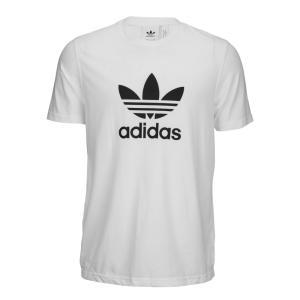 アディダス adidas Originals メンズ Tシャツ トップス trefoil t-shirt White|fermart