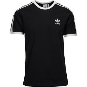 アディダス adidas Originals メンズ Tシャツ トップス california t-shirt Black/White|fermart