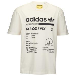アディダス adidas Originals メンズ Tシャツ トップス Kaval T-Shirt Cloud White/Black|fermart